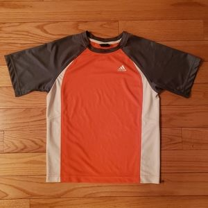 Boys Adidas Orange Top size M